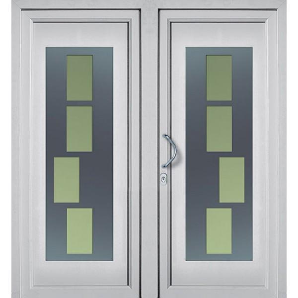 Fenster Konfigurator Schweiz ~ DV170 2flügelige Kunststoff Haustür günstig Online kaufen