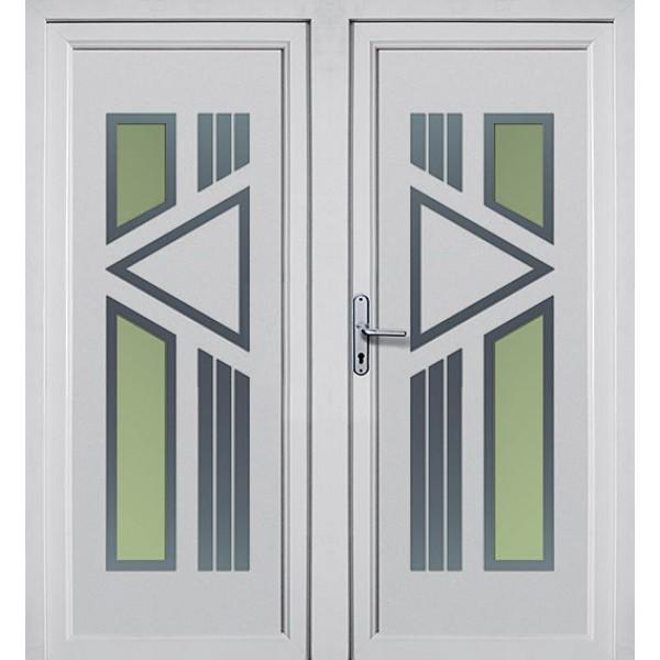 Fenster Konfigurator Schweiz ~ AV283 2flügelige Aluminium Haustür günstig Online kaufen