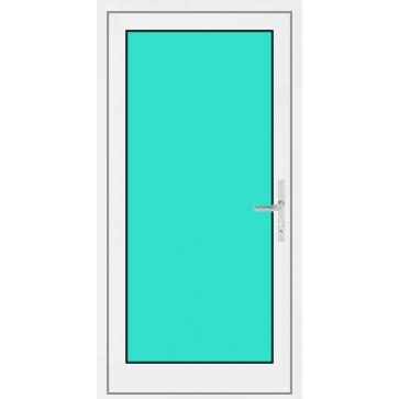 aluminium haust r 1 fl gelig mit glasf llung g nstig online kaufen. Black Bedroom Furniture Sets. Home Design Ideas