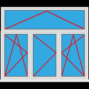 3 fl gelige kunststofffenster einfach online kaufen for Kunststofffenster konfigurieren