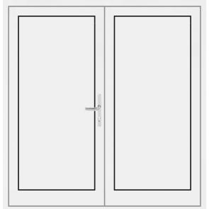 aluminium 2 fl gelige t ren online kaufen konfigurieren. Black Bedroom Furniture Sets. Home Design Ideas
