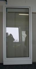 Kunststoff Balkontür Weiß Breite 1080 x Höhe 2100 mm