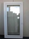 Kunststofffenster Weiß Breite 600 x Höhe 1350 mm
