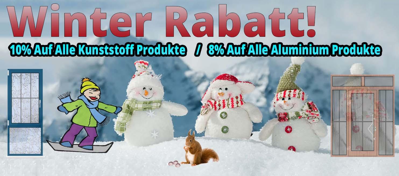 Winter Rabatt!